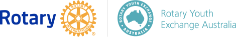 Rotary International and Rotary Youth Exchange Australia Logo